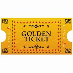 golden ticket. Black Bedroom Furniture Sets. Home Design Ideas