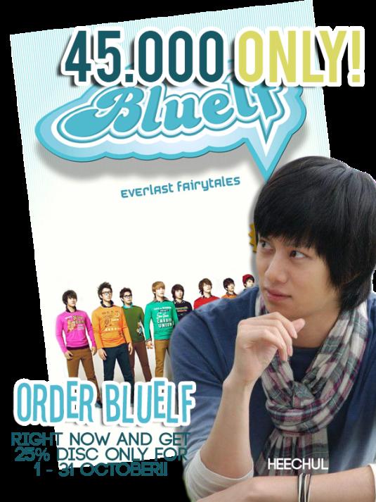 Poster SUJUFF BLUELF