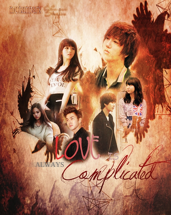 LOVE IS ALWAYS COMPLICATED POSTER