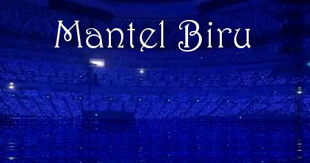mantel biru